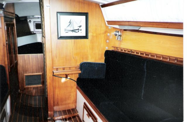 1978 Catalina 27 Sailboat Cabin Modifications