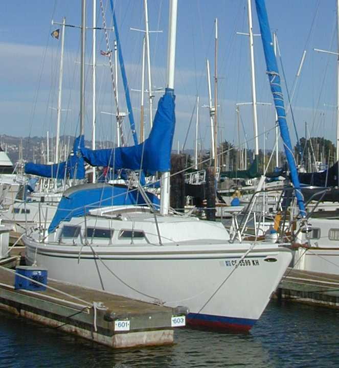 Catalina 27 Dodger and Sail Cover for Sale